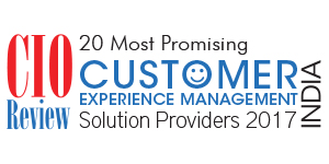 20 Most Promising CEM Solution Providers - 2017