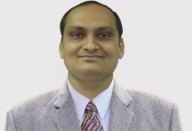 Yagnesh Upadhyay, Group Head IT, J.M.Baxi & Co